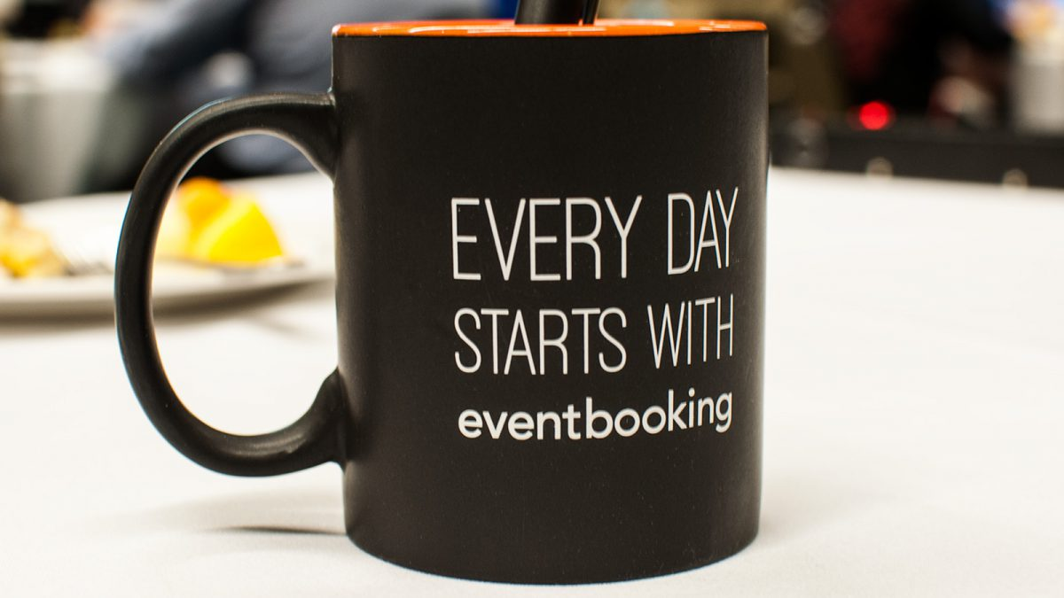 Every Day Starts With EventBooking