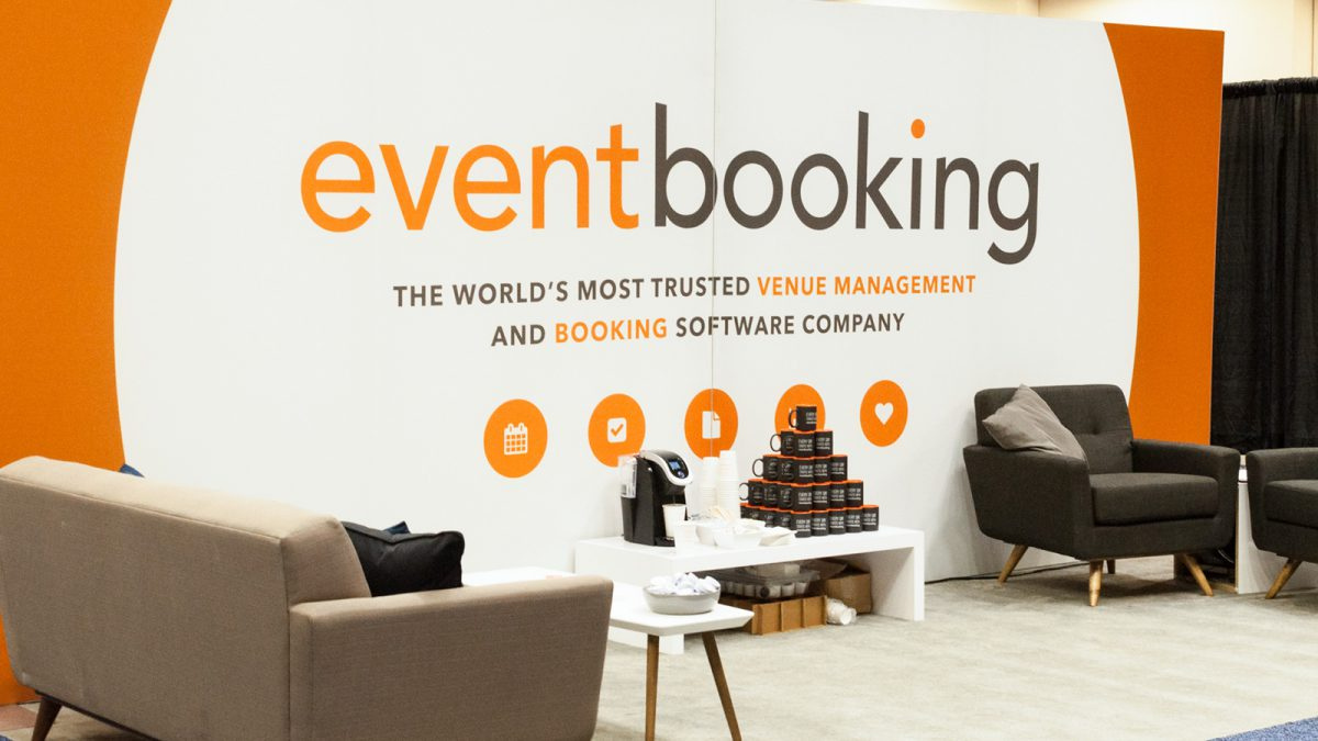 EventBooking Tradeshow Booth