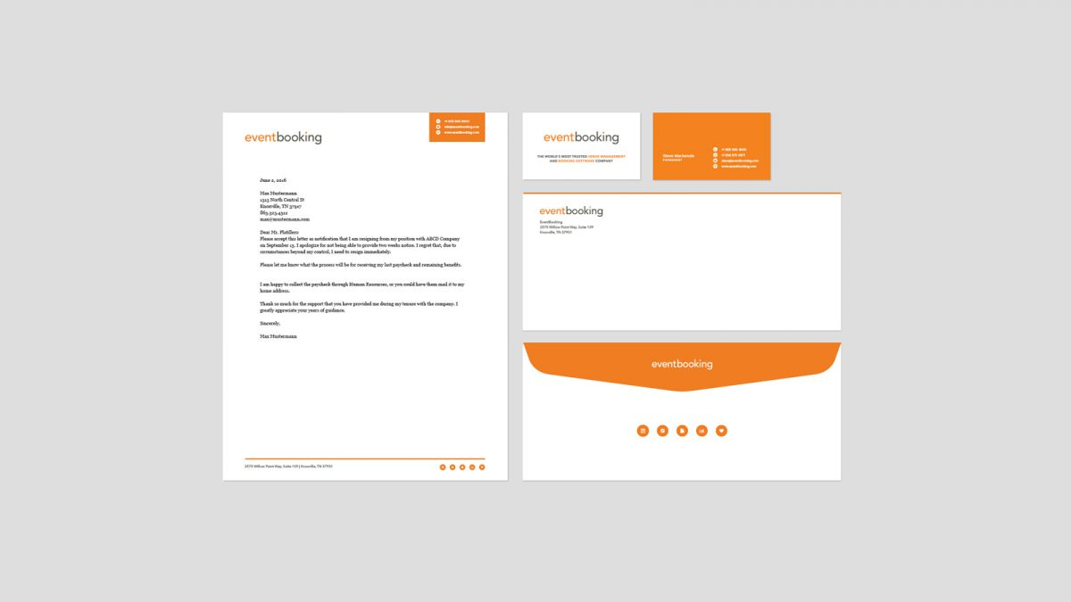EventBooking Stationary Package